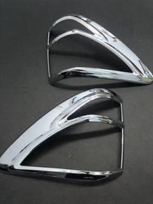 Mazda bt-50 bt50 chrome tail lamp cover