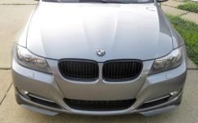BMW E90 LCI Carbon Fiber Front Splitter Non-Msport