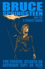Poster BRUCE SPRINGSTEEN