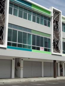 New three story Intermediate shoplot at Senadin Gateway, Miri