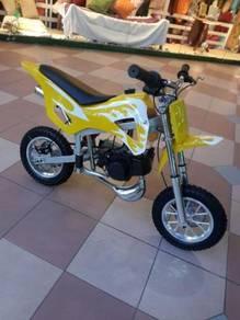 Scramler minibike for dirt bike 49Cc yellow/'')/
