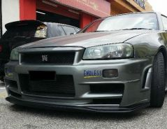 Nissan Skyline GTR34 Ztune widebody conversion
