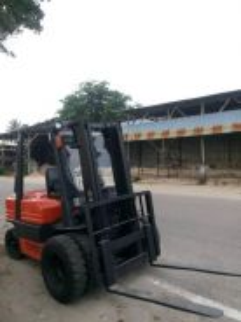 2005 No Plat WQV 7303 Forklift 2.5 Tan Diesel
