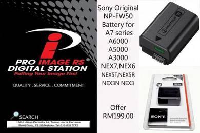 Original Sony battery NP-FW50