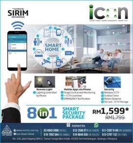 Affordable smart cctv system