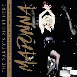 Madonna The Party's Right Here Import 2LP