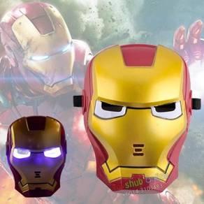 Superheroes Cosplay Anime Mask with LED - Ironman