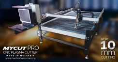 MYCUT PRO 2018 4' x 8' CNC Plasma Cutter 10mm cut