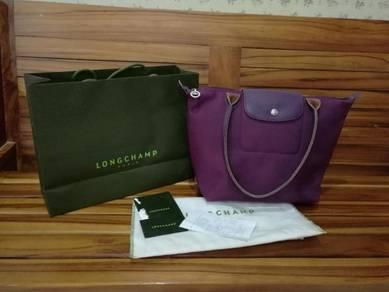 Authentic Longchamp Medium Purple