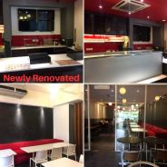 Fully Equipped Corner Unit Restaurant For Sale