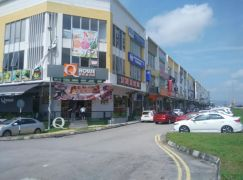 Tun Aminah, Jalan Pendekar 15, face main road, shop for rent