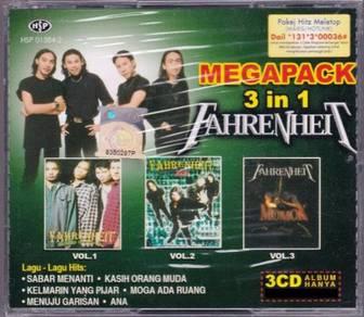 CD FAHRENHEIT Megapack Cahaya Gemilang Hero Momok