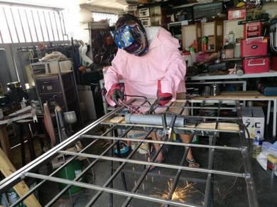 Welding services of various metal / steel / iron