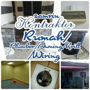 Tukar jubin bilik air/Leaking > area Putrajaya