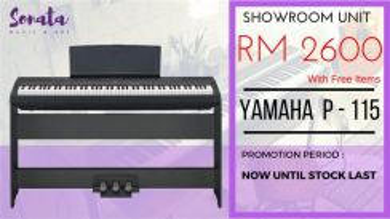 Yamaha Digital Piano P115 (Opened)