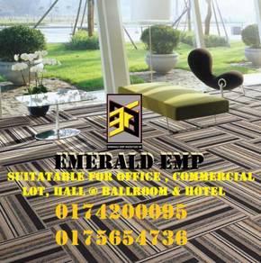 Supply install karpet petak carpet tile utara