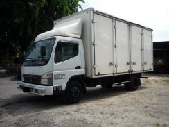 Mitsubishi fuso fe83 /17 feet / 10 door / 2013year