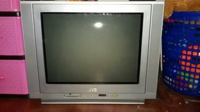 TV jenama JVC 21 inch