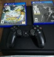 Ps4 500GB,free2disc game