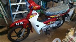 Motocycle Demak EX90 with VVIP number EJ65