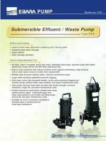 EBARA 1.0HP Sewage Submersible Water Pump