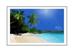 Painting of a Beautiful Sandy Beach