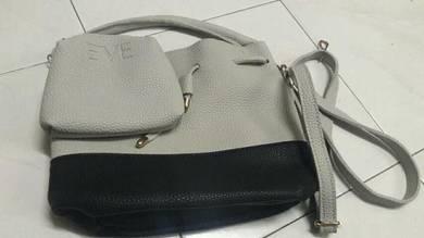 Casual handbag.