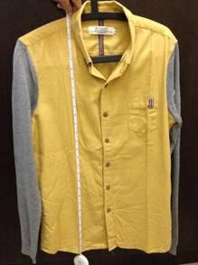 Unisex Yellow Grey Shirt