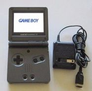 Black Game Boy Advance GBA SP Console AGS 101