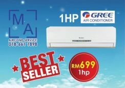 BEST SELLER Brand new aircond 1.0hp