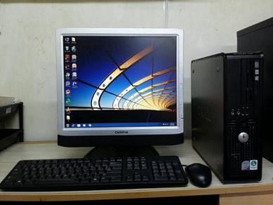 Beli Cpu Dell Free Lcd 17inch