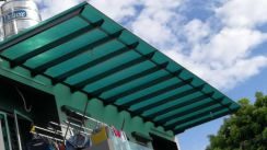 Pergola sheet awning polycarbonate