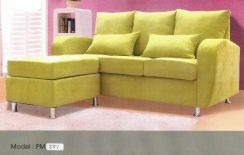 Dimension l-shape sofa-8551