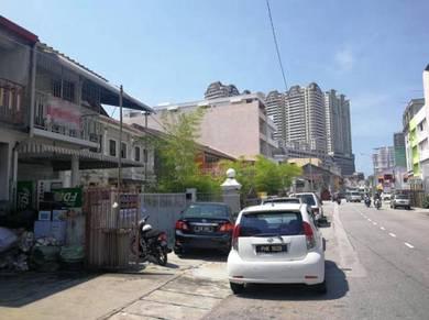 Georgetown Seang Tek Road Double Storey Terrace House