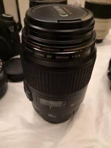 Canon Macro Lens EF 100mm USM