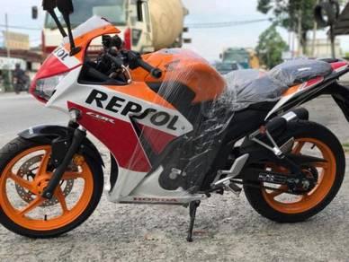 Honda CBR250 CBR 250 Repsol Raya promosi