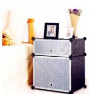Fashionable, Lightweight Cube Side Table