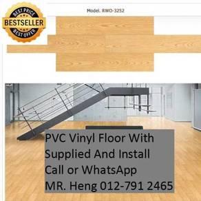 PVC Vinyl Floor - With Install iu89