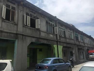 Lorong chulia, 2 storey terrace, value buy, georgetown, penang