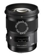 NEW Sigma 50mm F1.4 HSM Art Lens Canon Nikon DSLR