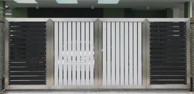 Stainless Steel Main Folding Gate (MFG 4)