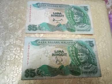 Duit lama RM 5