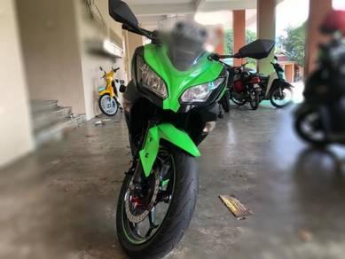 Kawasaki ninja 250 SE untuk dijual