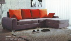 Dimension l-shape sofa-8572