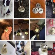 Customize pet tag