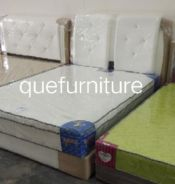 Queen divan + mattress new