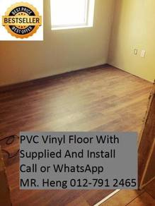 Beautiful PVC Vinyl Floor - With Install r456gt