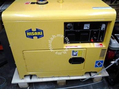 Generator hisaki 5000 watt -diesel