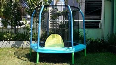 7.5ft hexagon trampoline_FREE INSTALLATION