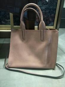Leather bag murah jual, discount 50%